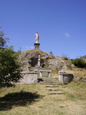 Statue Notre-Dame d'Estours